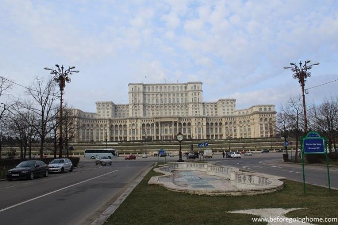 Palais du Parlement Bucarest Roumanie